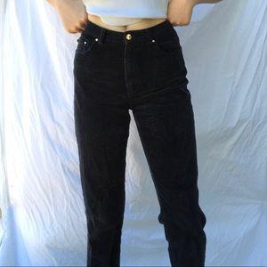 Ralph Lauren Navy Corduroy Pants